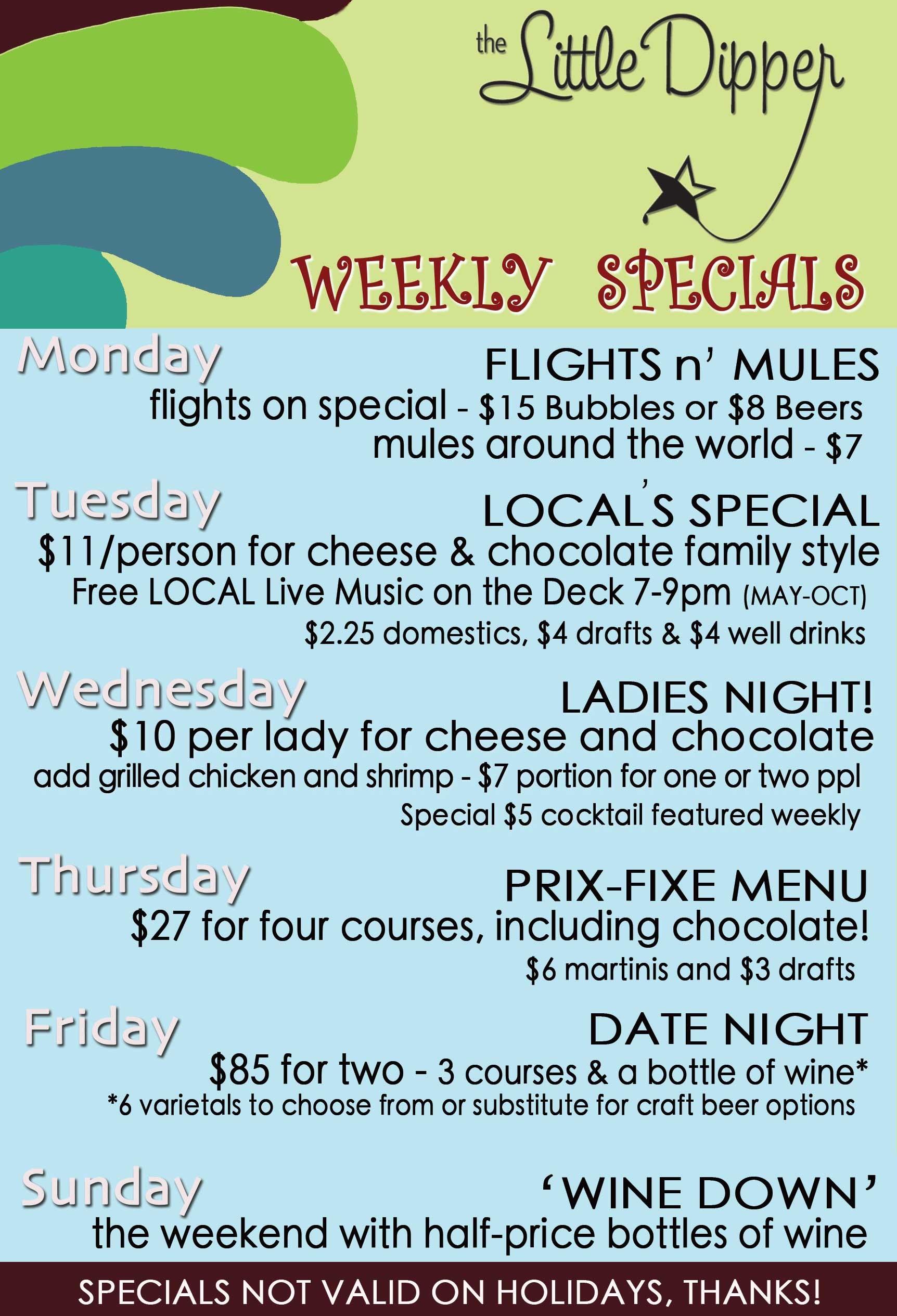 Litter Dipper Weekly Specials